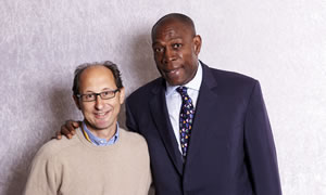 Jonathan Berliand with Frank Bruno
