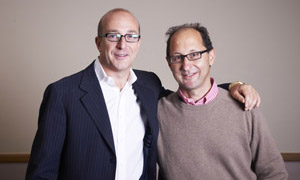 Jonathan Berliand with Paul McKenna