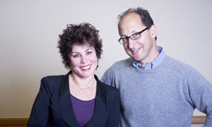 Jonathan Berliand with Ruby Wax