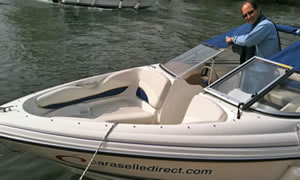 The Caraselle Direct river launch, Henley Royal Regatta 2011