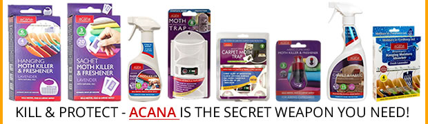 Moth & insect deterrents